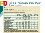 why east asia surged ahead of latin america june 20066