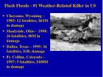 flash floods 1 weather related killer in us