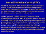 storm prediction center spc