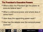s e c t i o n 2 the president s executive powers