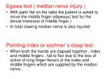 egawa test median nerve injury