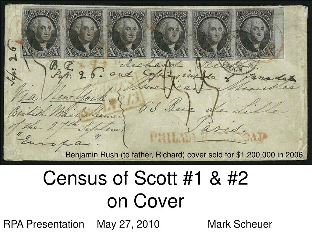 census of scott 1 2 on cover l.