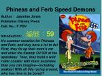 phineas and ferb speed demons