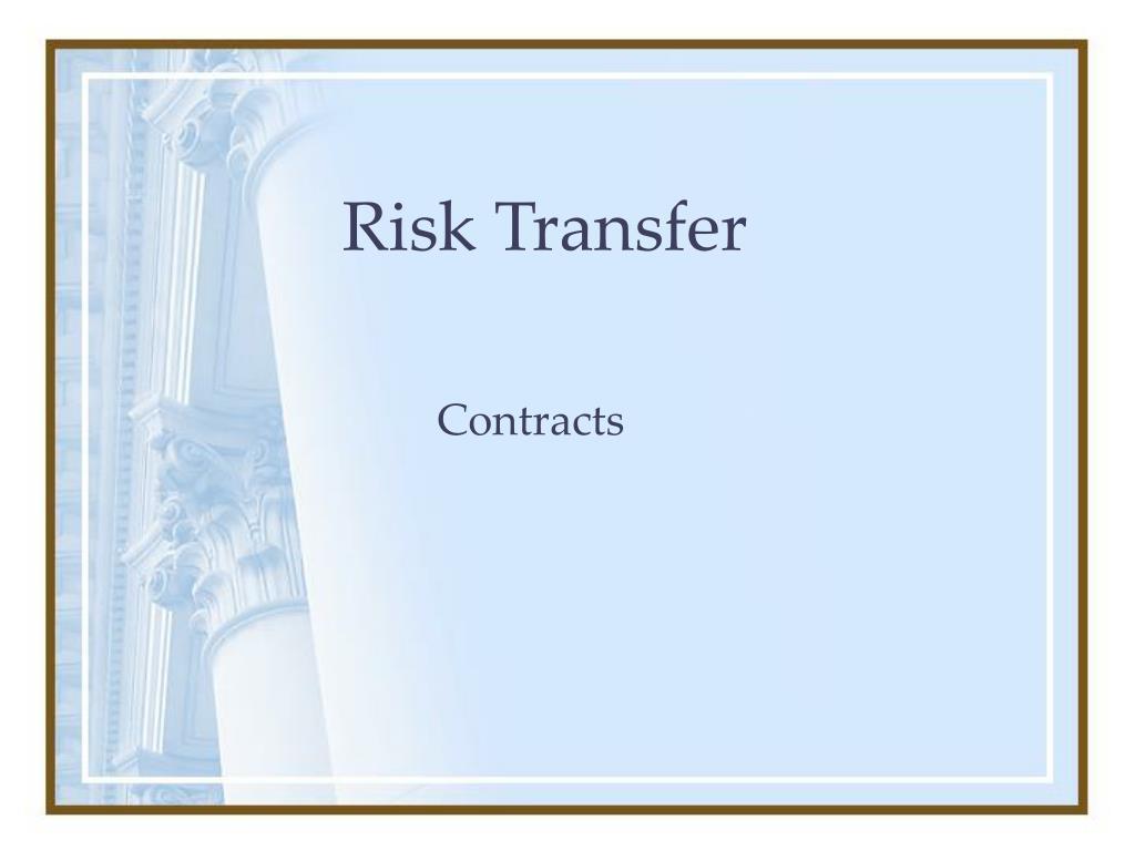 risk transfer l.
