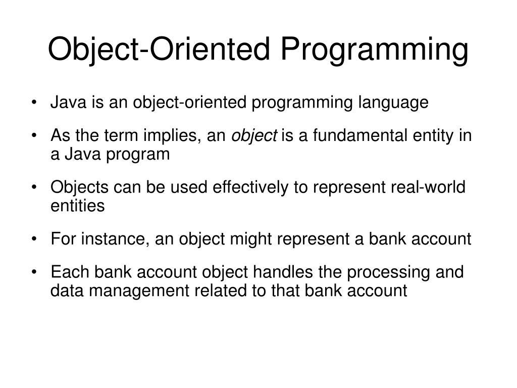 PPT - Java Language and Software Development PowerPoint Presentation