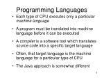 programming languages6