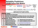 reliability predictions prism failure rate models