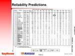 reliability predictions9
