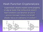 hash function cryptanalysis