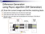 difference generation using rsync algorithm diff generation15