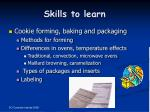 skills to learn7