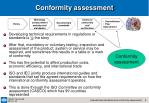 conformity assessment