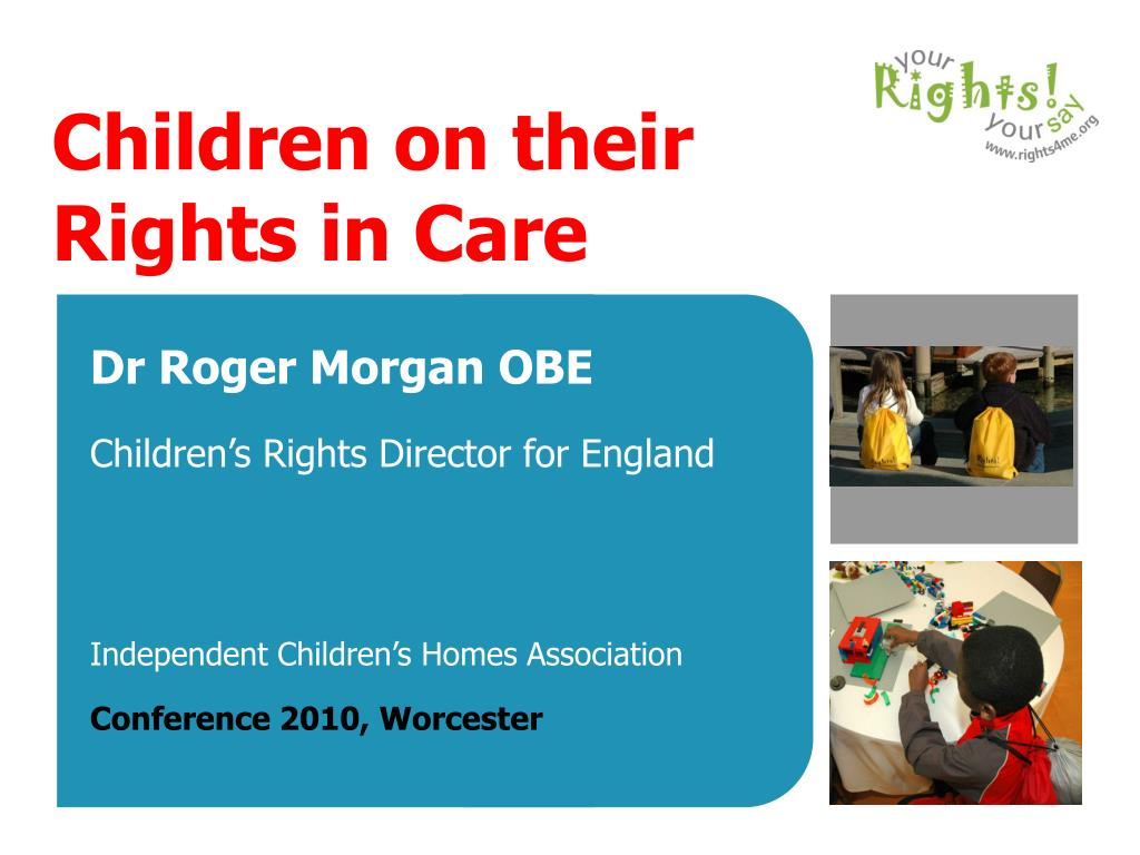 children on their rights in care l.