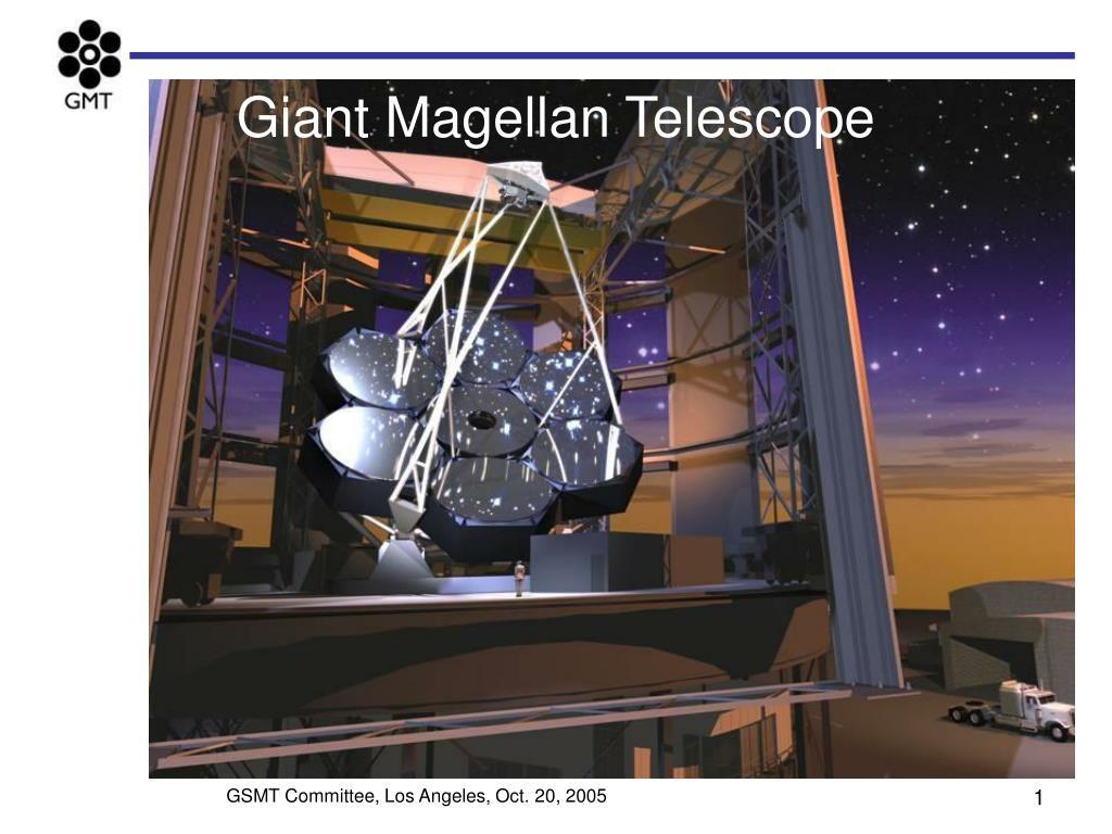 giant magellan telescope l.