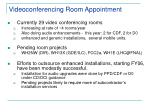 videoconferencing room appointment