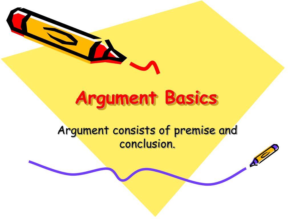 argument basics l.