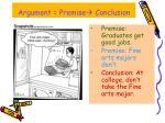 argument premise conclusion5