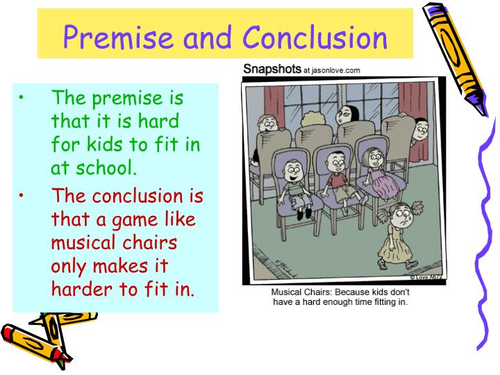 Premise and conclusion