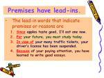 premises have lead ins12