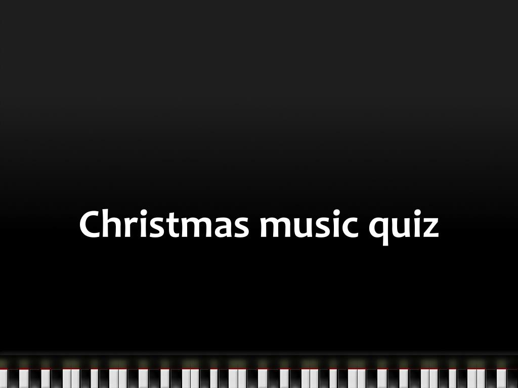 christmas music quiz l.