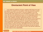 omniscient point of view5