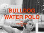 bulldog water polo