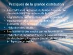 pratiques de la grande distribution