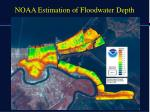 noaa estimation of floodwater depth