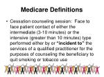 medicare definitions40