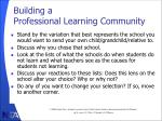 building a professional learning community5