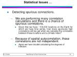 statistical issues36