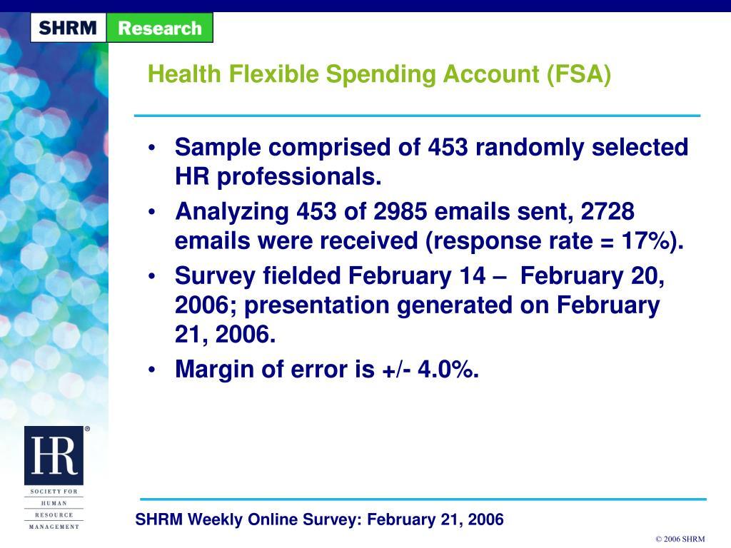 health flexible spending account fsa l.