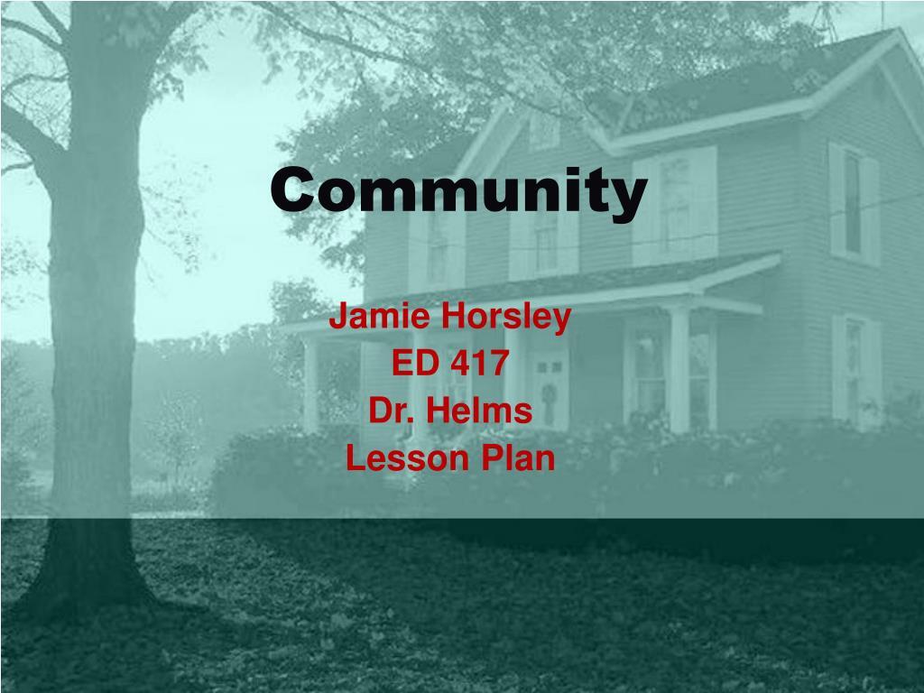 community l.