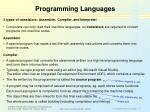 programming languages11