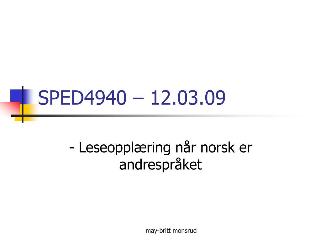 sped4940 12 03 09 l.