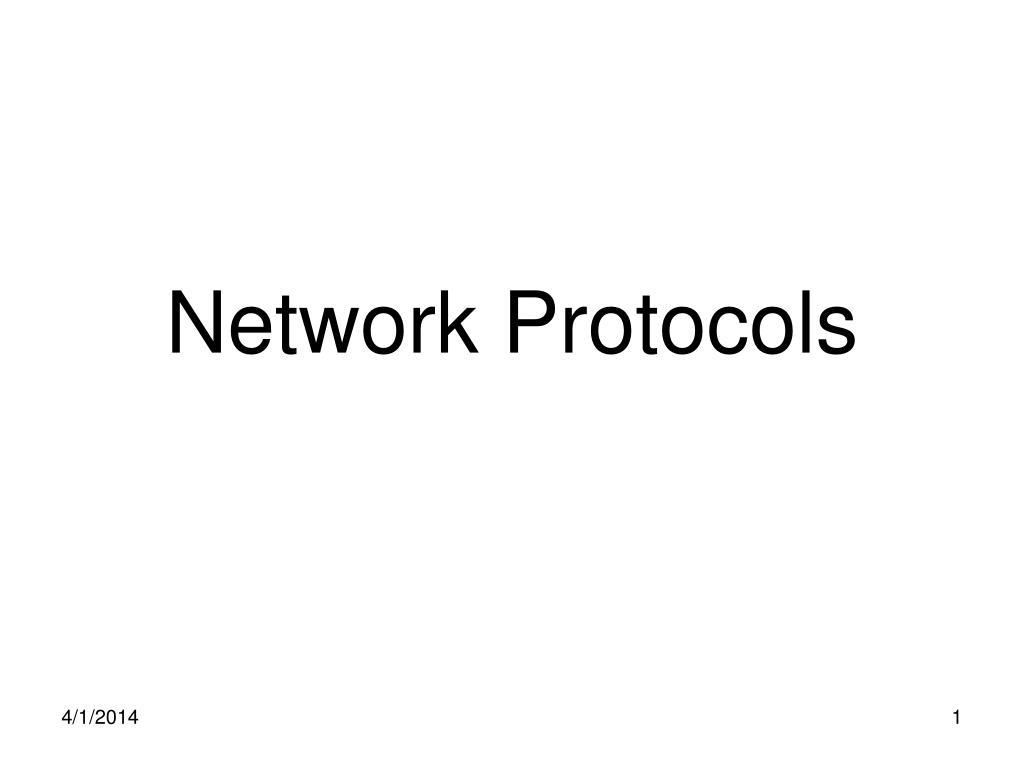 network protocols l.