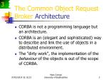 the common object request broker architecture3