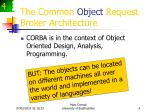 the common object request broker architecture4