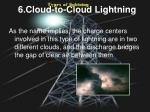 6 cloud to cloud lightning