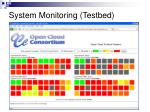 system monitoring testbed