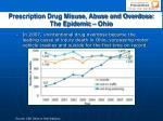 prescription drug misuse abuse and overdose the epidemic ohio14