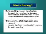 what is strategy