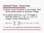 optical flow overview