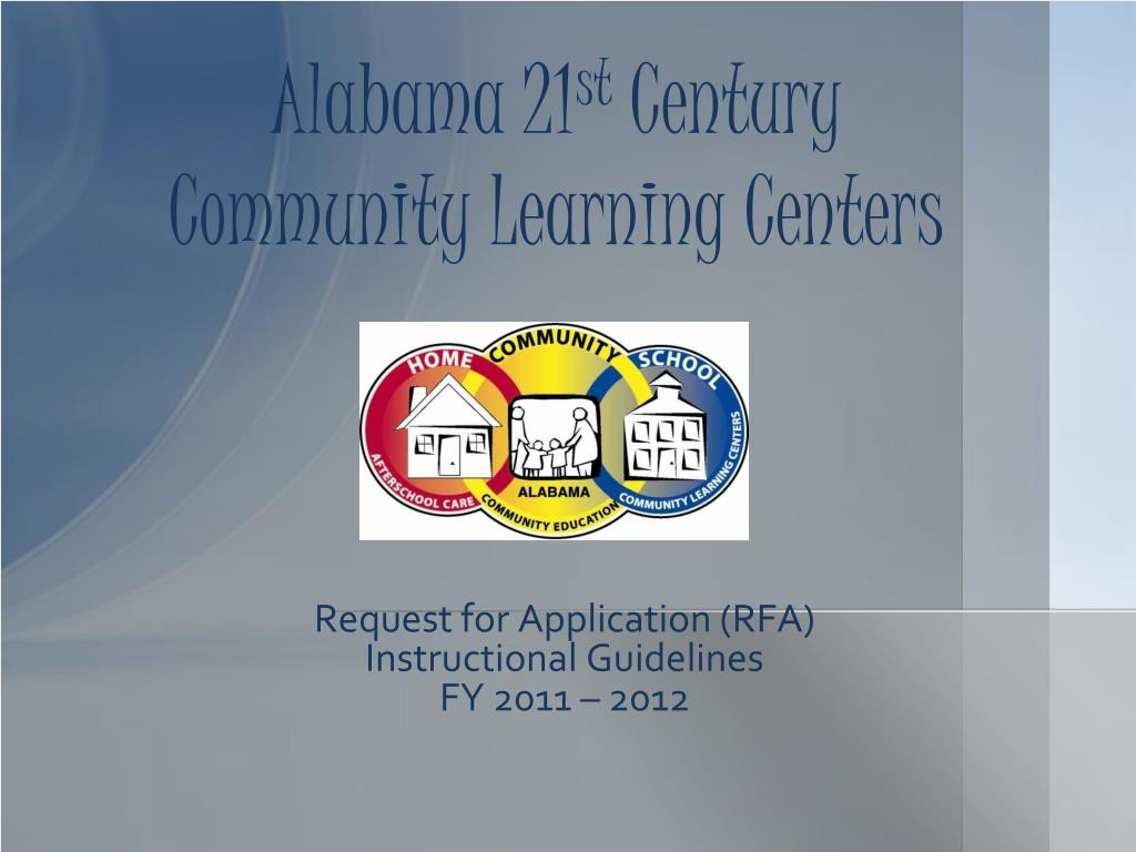 alabama 21 st century community learning centers l.