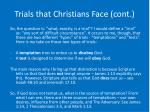 trials that christians face cont15