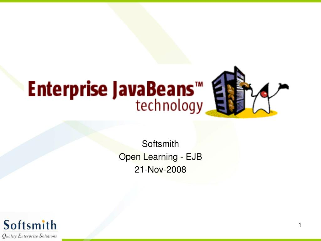 softsmith open learning ejb 21 nov 2008 l.