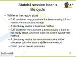 stateful session bean s life cycle50