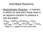 acid base reactions5