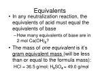 equivalents12
