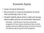 economic equity
